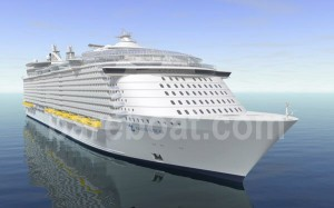 Oasis of the Seas - Royal Caribbean Cruiseship
