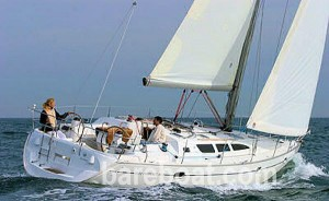 Picture yourself on your first bareboat yacht charter vacation