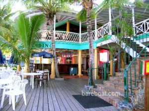 Pusser's Landing - a must see on your British Virgin Island bareboat yacht charter vacation