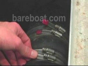 Checking bareboat engine