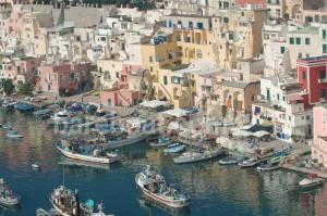 Marina Corricella - Procida Italy near Naples - bareboat charter destination