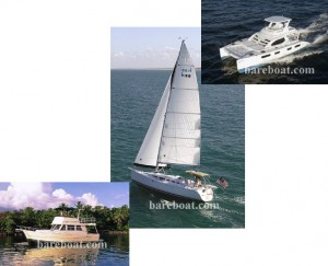 Are you interested in a sailboat or a powerboat for your bareboat charter vacation?