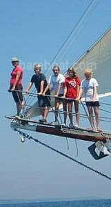 Bonnie Lynn schooner seamanship training