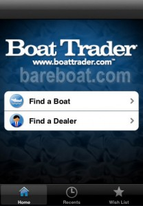 Boat Trader iPhone app