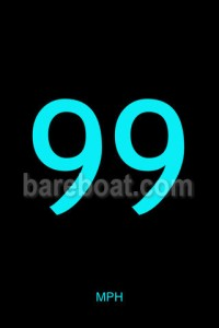 Bareboat JustSpeed iPhone app
