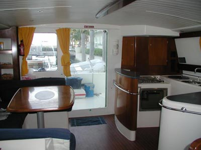Nansea is a 2003 Fountaine Pajot Maryland 37′ power cat, based with our Key ...