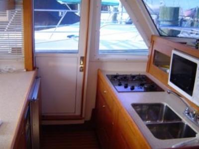 MAINSHIP 430 bareboat trawler motor yacht