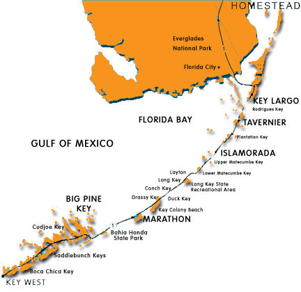 Map Of Florida Keys And Miami.Florida Keys Bareboats Yacht Charters At 1 800 Bareboat